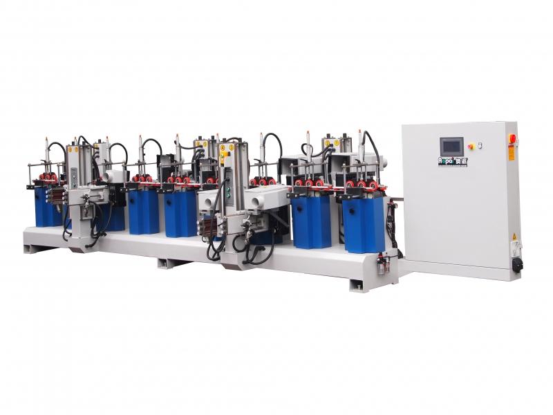 河北奥派 市场款砂光机 气动压料 木工机械生产产家 4H5W异形线条砂光机