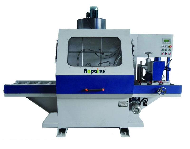 河北奥派全自动线条喷漆机  木工机械生产产家 木工机械设备 AP-MP200-异形砂光机
