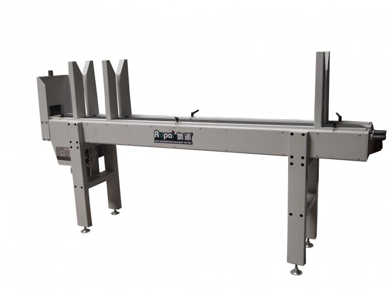 河北奥派线条送料机 (皮带式)木工机械设备生产产家AP-SLJ-240-砂光机价格